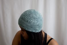 Ravelry: Cass Cable Hat pattern by Maria Larraga