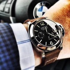The Ultimate List of Gentleman Watch Brands Panerai Luminor, Panerai Watches, Panerai 312, Stylish Watches, Luxury Watches For Men, Cool Watches, Gentleman Watch, Der Gentleman, Gentleman Style