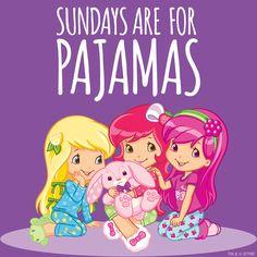 Sundays are for pajamas