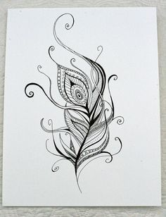 Hey, I found this really awesome Etsy listing at http://www.etsy.com/listing/129833961/hand-drawn-henna-style-peacock-feather