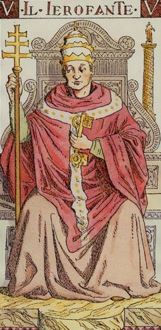 V. The Hierophant: Tarot of the Master (il ierofante)