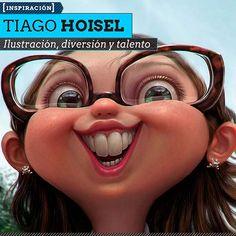 Ilustración, diversión y talento de TIAGO HOISEL Otras buenas y graciosas obras de este gran talento.  Leer más: http://www.colectivobicicleta.com/2013/07/Ilustracion-de-TIAGO-HOISEL.html#ixzz2Yrejo6Eq