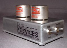 Bob's Devices Moving Coil Step-Up Transformer