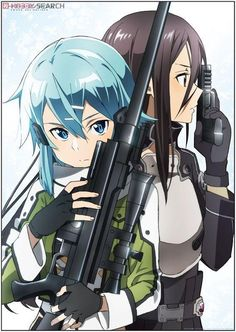 Sword Art Online duo kirito&sinon