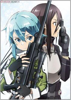 Sword Art Online duo kirito&sinon
