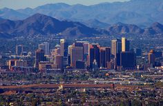 Phoenix, Arizona... love the name but not really enjoyed being there.. I always pass by Phoenix when I go to Sedona by car or by air..