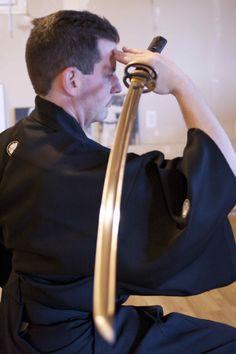 Iaido - preforming chiburi