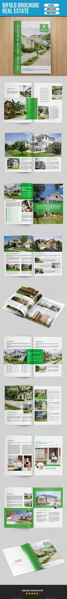 Real Estate Brochure v163 — InDesign INDD #green #ecologic • Available here → https://graphicriver.net/item/real-estate-brochure-v163/9589491?ref=pxcr