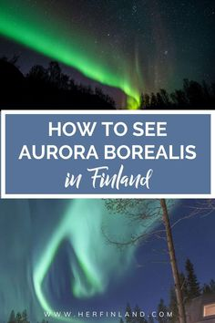 Check out my make-no-mistakes guide to help you on your aurora borealis hunt. There's a possibilty to see the northern lights anywhere in Finland. #NorthernLights #AuroraBorealis Northern Lights Holidays, See The Northern Lights, Holidays In Finland, Lapland Finland, Visit Santa, Aurora Borealis, Bucket Lists, Things To Know, Arctic