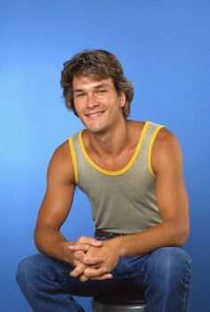 Patrick Swayze, male actor, dancer, artist, Dirty Dancing, North  South, r.i.p., hands, portrait, photo
