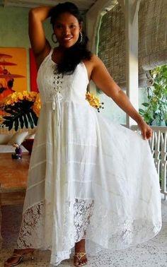 sun dress W/ Lace