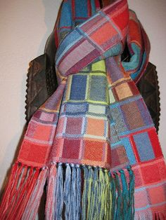 Handwoven Wool Scarf for Men and Women by tisserande on Etsy, $150.00