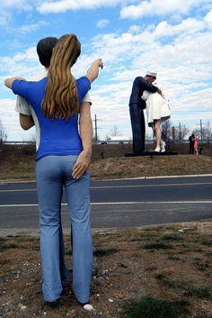 seward johnson sculptures | Seward Johnson sculptures | Flickr - Photo Sharing - On Klockner Rd, Hamilton, NJ