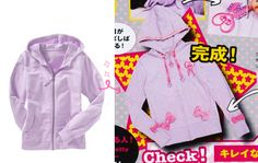 DIY Fairy Kei ♪ Jacket