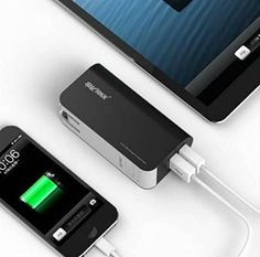 23 Best Power Banks images | Usb, Charger, Cell phone
