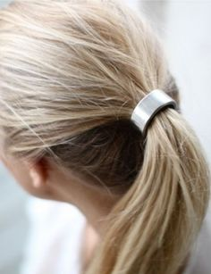 EVES Silver-Plated Hair Cuff