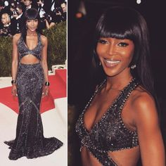 in from the Red Carpet of Naomi Campbell, Fit S, Roberto Cavalli, Red Carpet, Castle, Formal Dresses, Instagram Posts, Artist, Outfits