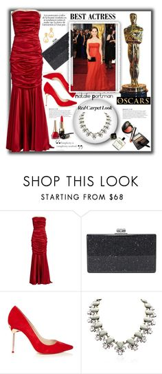 """Natalie Portman: Red Carpet at the Oscars"" by stylediva20 ❤ liked on Polyvore featuring Dolce&Gabbana, Edie Parker, Sophia Webster, KAROLINA, polyvorecommunity, polyvoreeditorial, polyvorecontest and polyvorefashion"