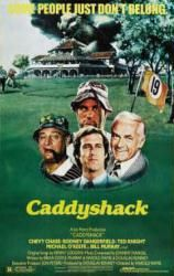 Caddyshack movie poster [Chevy Chase & Bill Murray] 24 X 36 Only $7.97