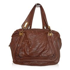 Chloe Brown Python Tote http://www.consignofthetimes.com/product_details.asp?galleryid=8723