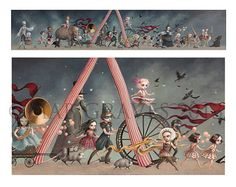 The Carnival Small Limited Edition signed and by mabgraves