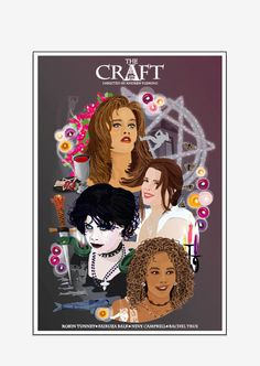 THE CRAFT 1996 Inspired Movie Art Print. We by CuteStreakDesigns