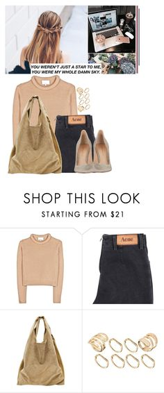 """""""JL"""" by jonaticaajesy ❤ liked on Polyvore featuring 3.1 Phillip Lim, Acne Studios, Alexander Wang, ASOS and Gianvito Rossi"""