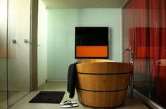 #bathub #wood #relaxing #minimal
