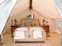 Fabulous canvas tents for glamping on eBay! http://accordingtobrian.com/canvas_glamping_tents?=bigtents