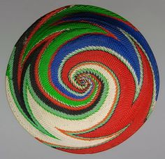African Zulu Imbenge Pot Lid Covers – Traditional Artefacts