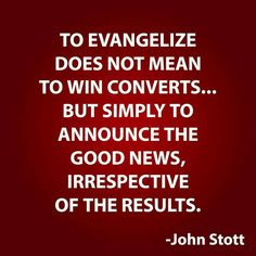 christian quotes | John Stott quotes | evangelism