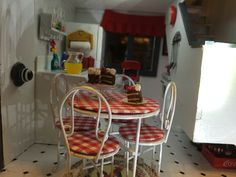 The Brookwood Dollhouse - kitchen