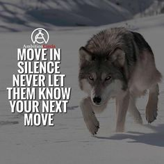 Moves in like ninja never making a sound..ready to silence all haters. Always reaching for the next goal.