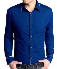 4f6e40f7b7ba Blue Stylish Paristyle Shirt