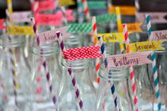 Drinks at a Baby Shower #babyshower #drinks