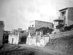 Carrer de les Alberes, Vallvidrera, 1900