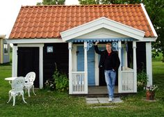 Summer house on Visingso Island, Sweden. My Swedish friends live on Visingso.