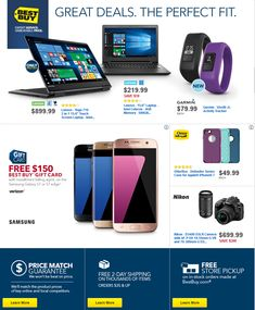 Best Buy Weekly Ad October 16 - 22, 2016 - http://www.olcatalog.com/electronics/best-buy-weekly-ad.html