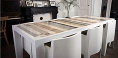 Sloophout tafel