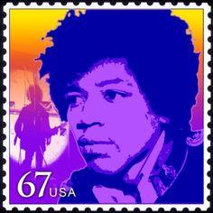 USA 2012 - James Marshall «Jimi» Hendrix fue un músico y cantante estadounidense. Hendrix es considerado uno de los mejores y más influyentes guitarristas eléctricos de la historia de la música popular, y uno de los músicos más importantes del siglo XX