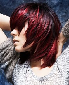 Bold hair color will help you to boost your confidence. Thanks to great variety of innovative hair colors you will easily find the most flattering one that will help you to fulfil even the boldest idea. Edgy shades like atomic pink, blue, bright orange, red, purple and many other bright colors will inspire you to inject drama into your image.