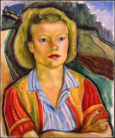 Painting by Prudence Heward Farmer's Daughter, Oil on canvas, National Gallery of Canada. L'art Du Portrait, Portraits, Canadian Painters, Canadian Artists, Beaver Hall, Art Inuit, Contemporary History, Farmer's Daughter, Canada