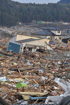 Terremoto e tsunami no Japão em março de 2011.