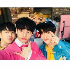 Changbin, Hyunjin, Minho and Jeongin Stray Kids
