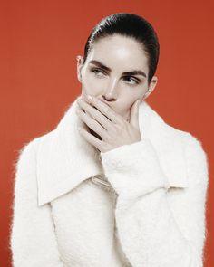 "Hilary Rhoda in ""Modern Woman"" by Paola Kudacki for Heroine Magazine, Fall/Winter 2014"