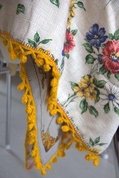 bobbly crochet edging free pattern