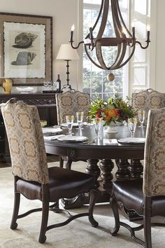 Casa D'Onore Round Table | Stanley | Home Gallery Stores