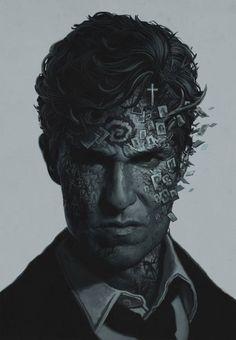 Detective Rust Cohle by Yuri Shvedova - Imgur