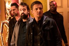 Jeremy Renner 'was totally game' to get set on fire for 'The House'