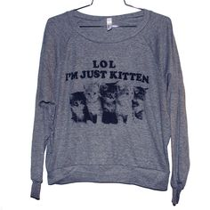 Just Kitten Raglan (Select Size)